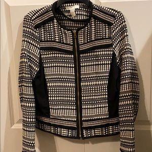 H&M Zipper Blazer Size 12 NWOT